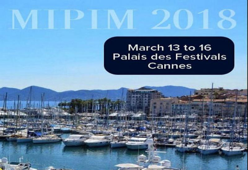 Vastgoedbeurs Mipim in Cannes 2018